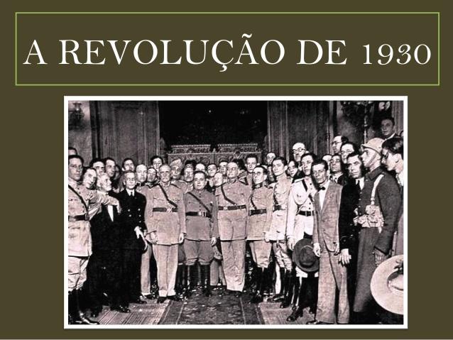 Os antecedentes da revolução de 1930